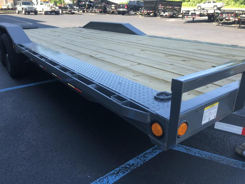 2021 PJ Trailers (6 in. Channel Super-Wide (B6) 20'