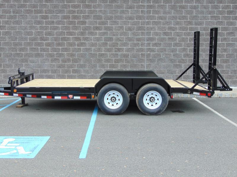 "2021 PJ Trailers 18' x 83"" between fenders in. Channel Equipment (CC) Equipment Trailer"