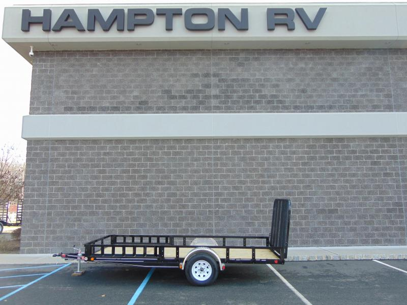 2020 PJ Trailers 83 in. Single Axle Channel Utility (U8)141 Utility Trailer