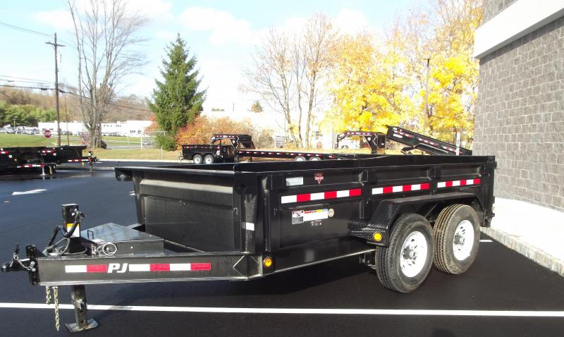 2021 PJ Trailers 12 x  83 in. Low Pro Dump (DL) Dump Trailer