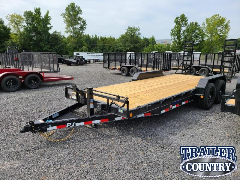 2021 PJ Trailers 83X20TA Equipment Trailer