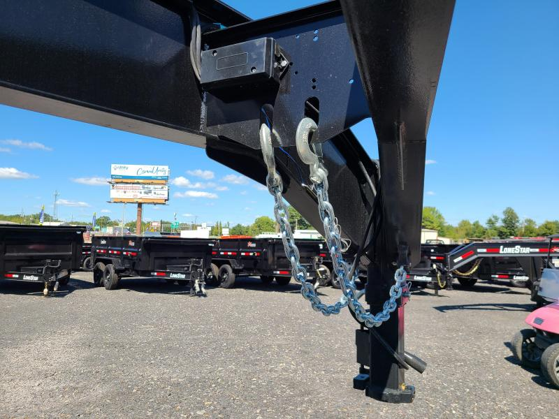 2022 LONESTAR 102X40 CONTAINER Flatbed Trailer