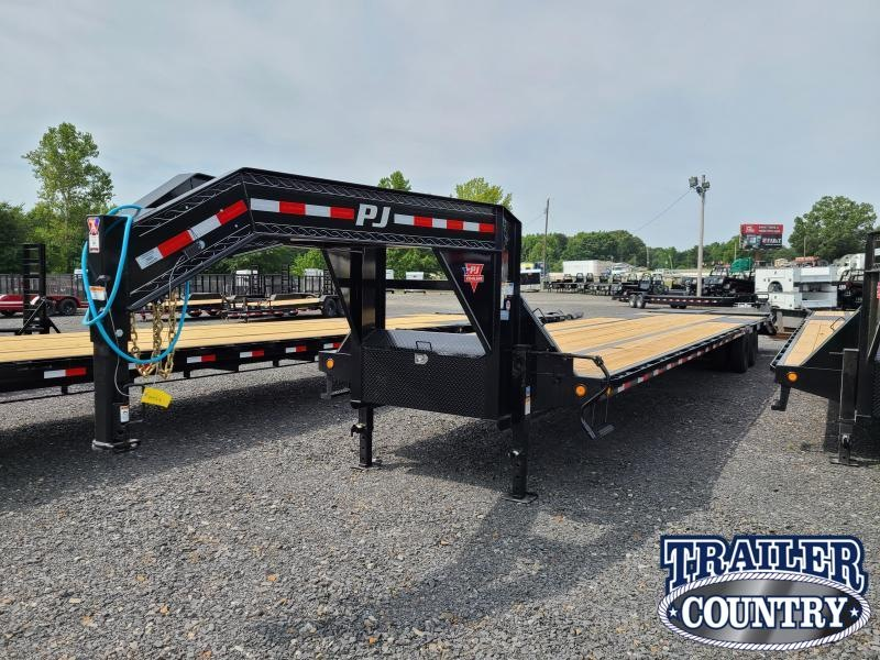2021 PJ Trailers 40FT LOW PRO WITH DUALS Flatbed Trailer