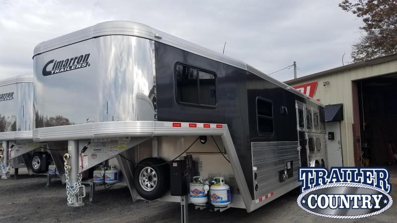 ***PRICE REDUCTION***2020 Cimarron LIVING QUARTERS 3 Horse Trailer WITH FREE 14' Delta BUMPER PULL TRAILER