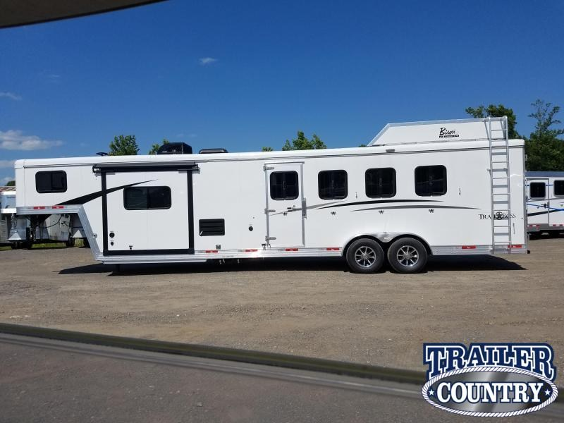 2019 Bison 7411 TRAIL BOSS Horse Trailer with Living Quarters