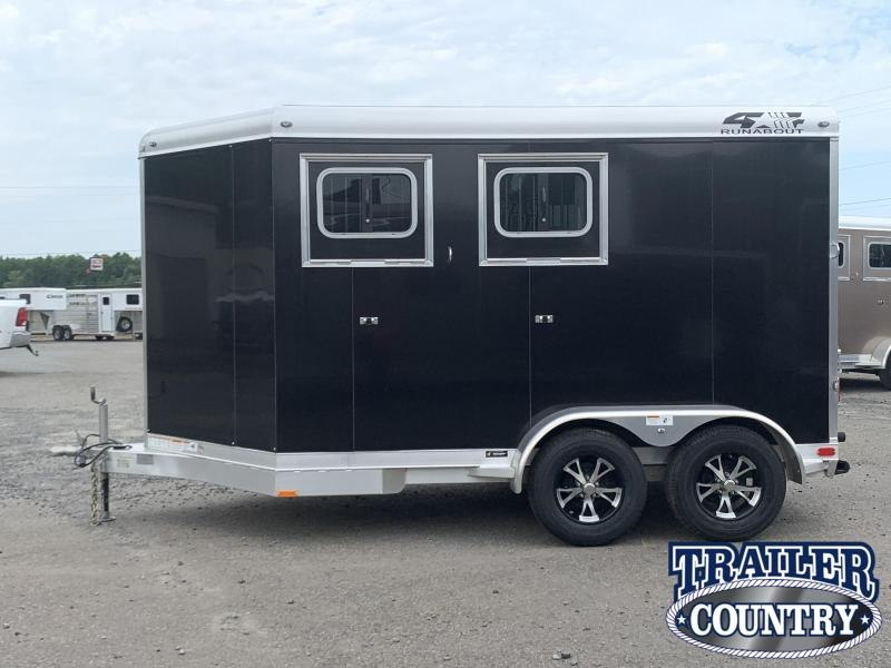 2020 4-Star Trailers 2 HORSE SLANT LOAD Horse Trailer
