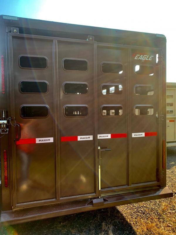 2022 Maxxim Industries Eagle 36' Livestock Trailer - IN STOCK!!