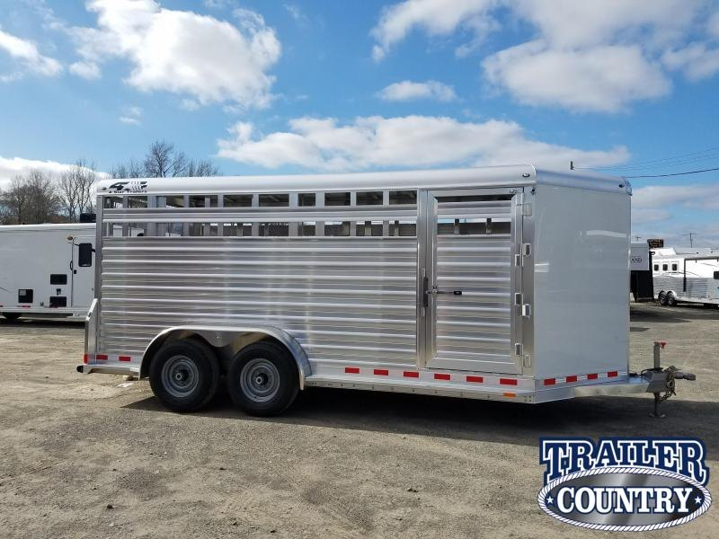 ***PRICE REDUCTION***2019 4-Star Trailers ALUMINUM Livestock Trailer