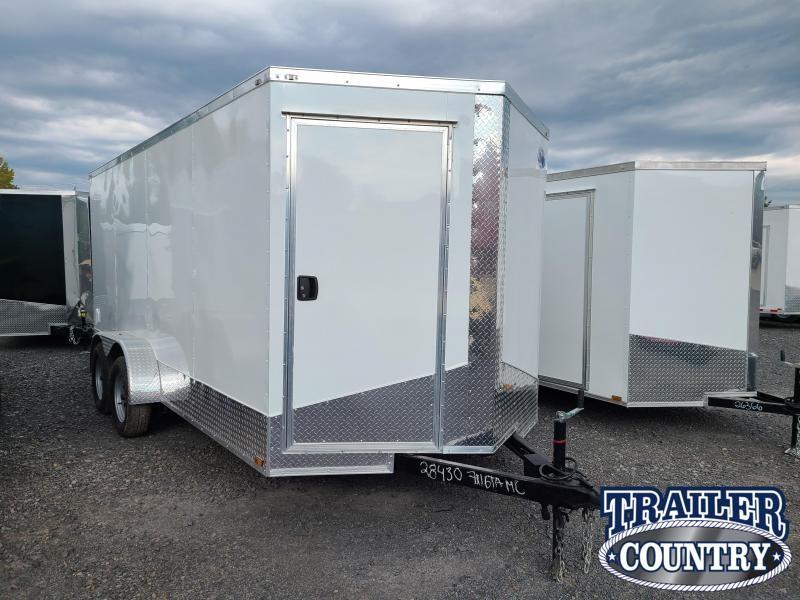 2022 Quality Cargo 7X16 TA Enclosed Cargo Trailer