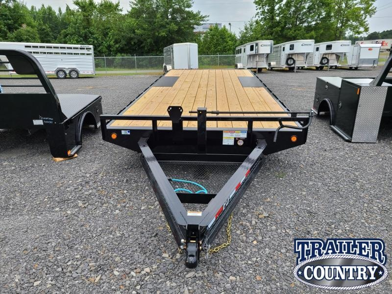 2021 PJ Trailers 96X20 I-BEAM DECKOVER Equipment Trailer