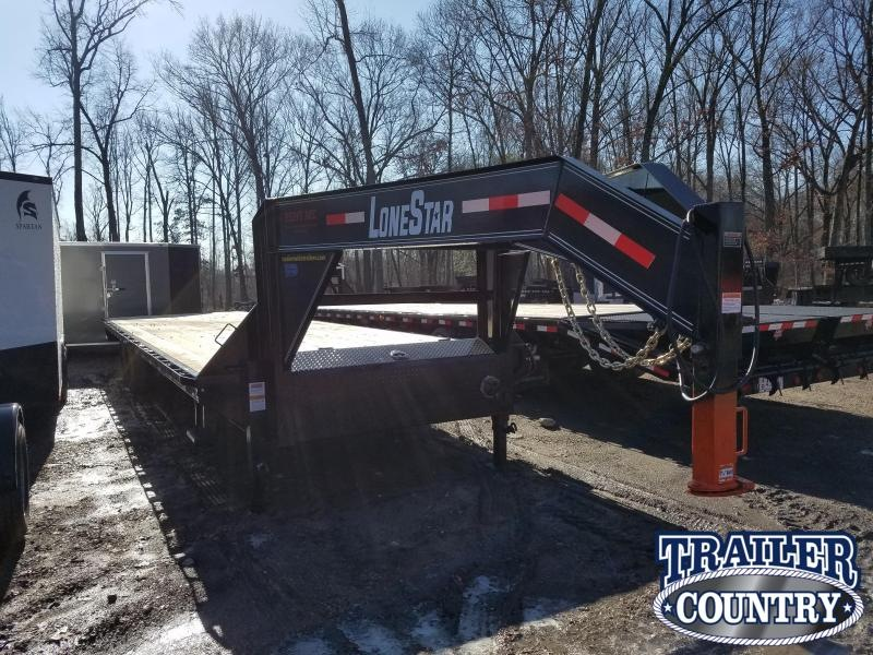 ***RENTAL****2019 Lonestar 32X 102 I-BEAM Flatbed Trailer