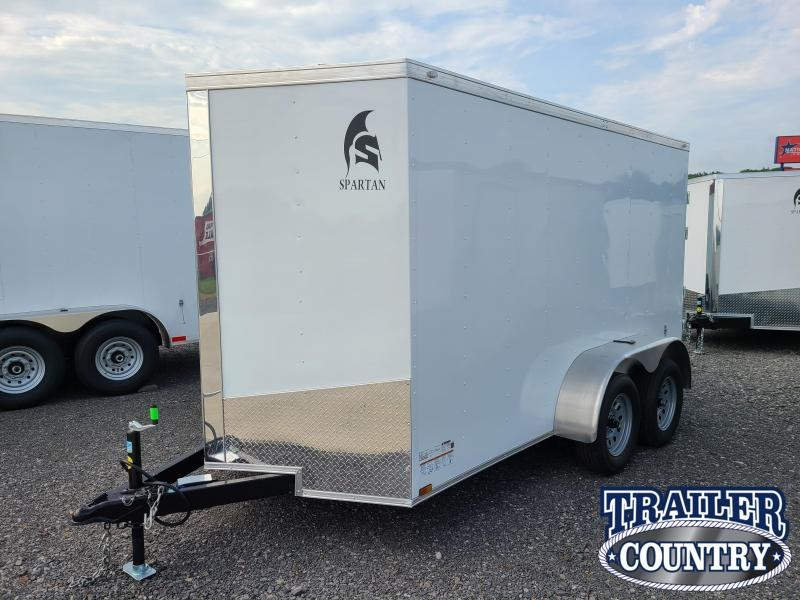 2021 Spartan Cargo 6X12 TA Car / Racing Trailer