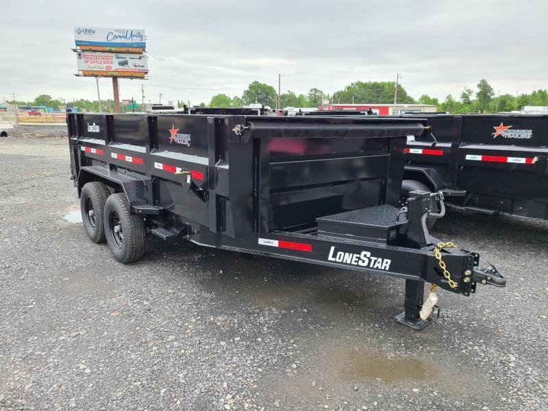 2021 LONESTAR 83X14 TA Dump Trailer