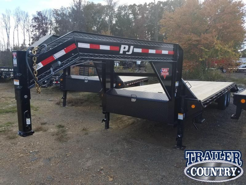 2019 PJ Trailers 102X25 HEAVY DUTY GN Flatbed Trailer