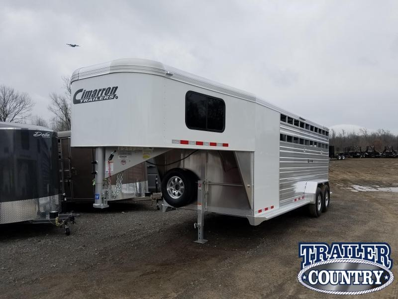 ***PRICE REDUCTION***2019 Cimarron Trailers LONESTAR 20FT Livestock Trailer