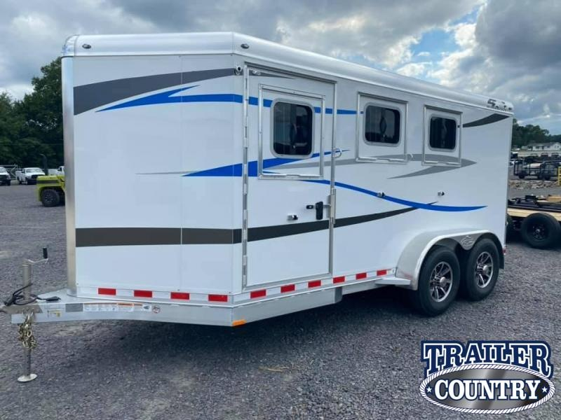 2021 4-Star Trailers Runabout 3 Horse Slant Bumper Pull Horse Trailer