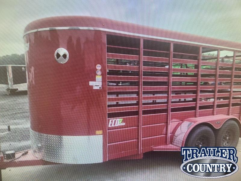 2021 BCI Trailers 16FT ECO SERIES Livestock Trailer