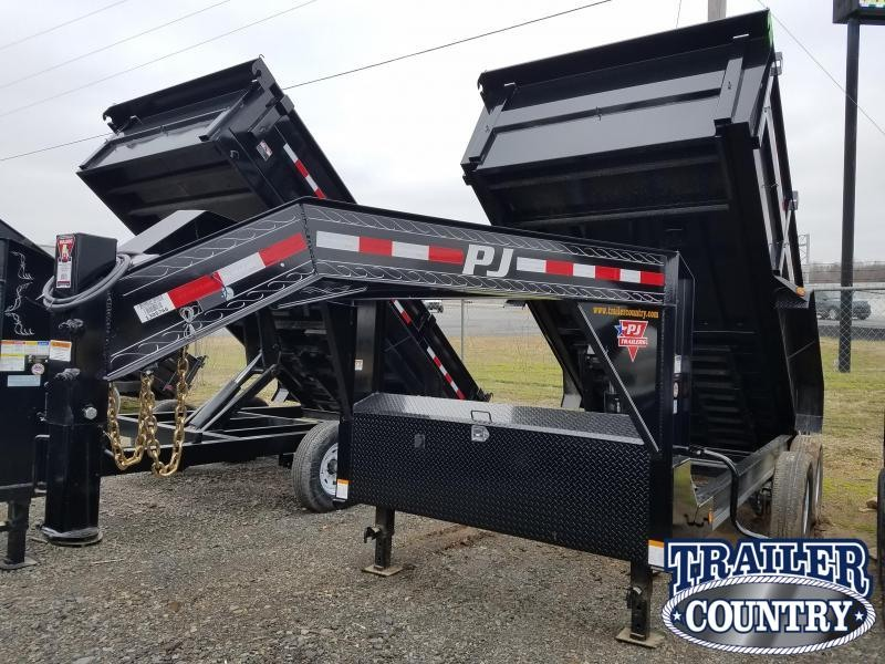 2019 PJ Trailers 83X14 LO PRO HIGH SIDES Dump Trailer