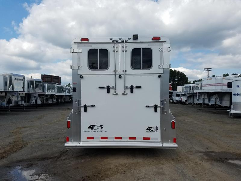 ***CLEARANCE*** 2019 4-Star Trailers 2 HORSE Trailer