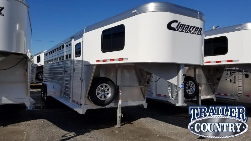 2020 Cimarron Trailers Stock Combo Horse Trailer