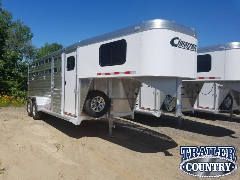 ***PRICE REDUCTION***2020 Cimarron Trailers 20FT GOOSENECK Livestock Trailer