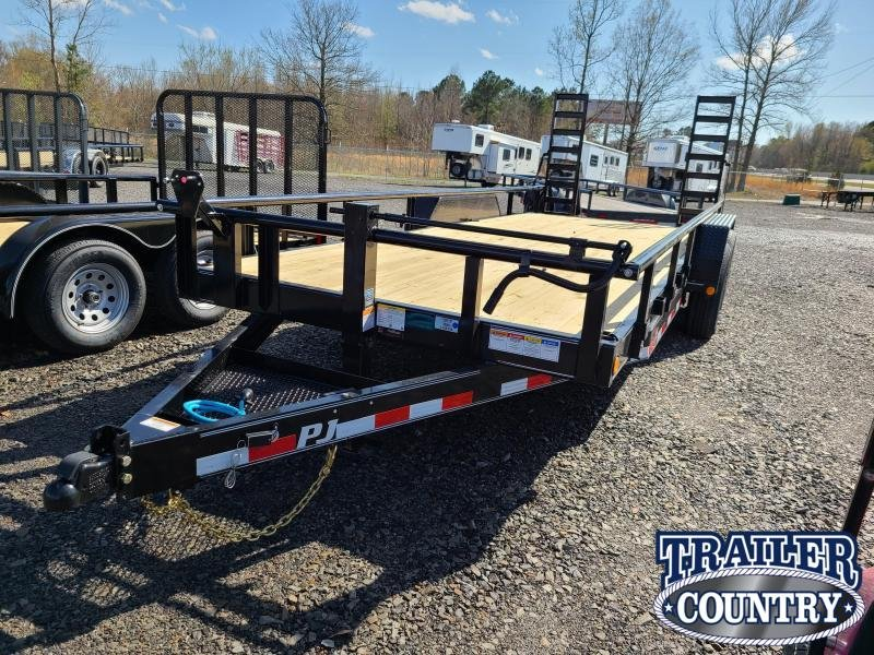 2021 PJ Trailers 83X20 TA Equipment Trailer