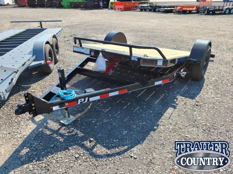 2021 PJ Trailers 13' HD TILT Car / Racing Trailer