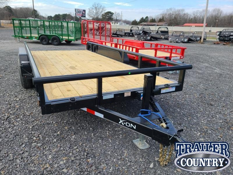 2021 Delco Trailers 83X16 TA Car / Racing Trailer