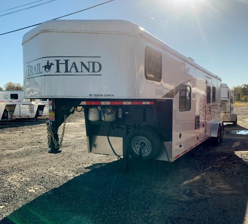 2019 Bison Trailers Trail Hand Horse Trailer