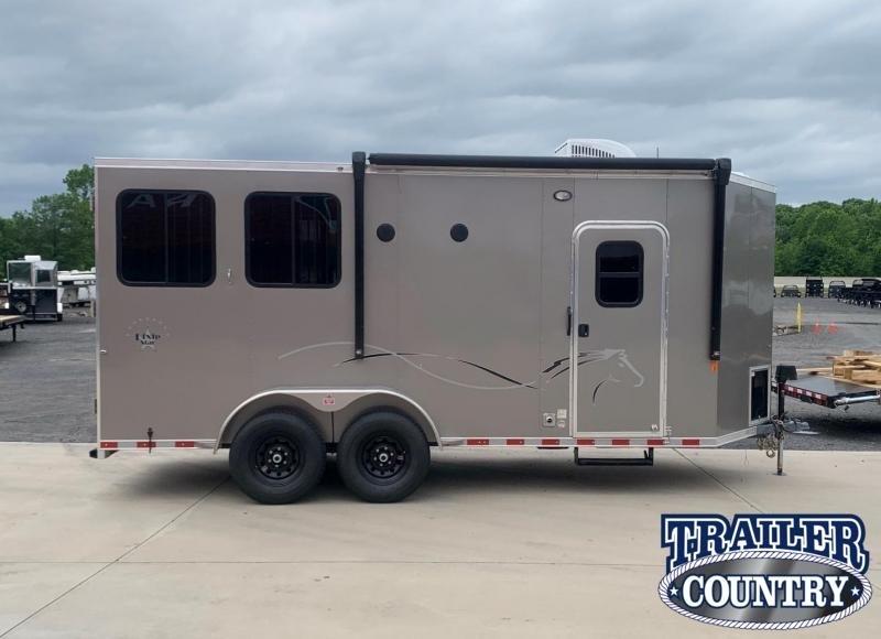 2022 Dixie Star 2 Horse Living Quarters Horse Trailer
