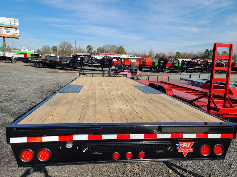 2021 PJ Trailers 102X24 TA Equipment Trailer