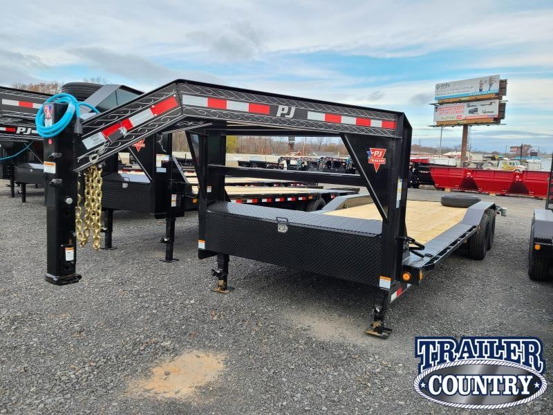 2021 PJ Trailers 102X24 TA SUPER WIDE Equipment Trailer