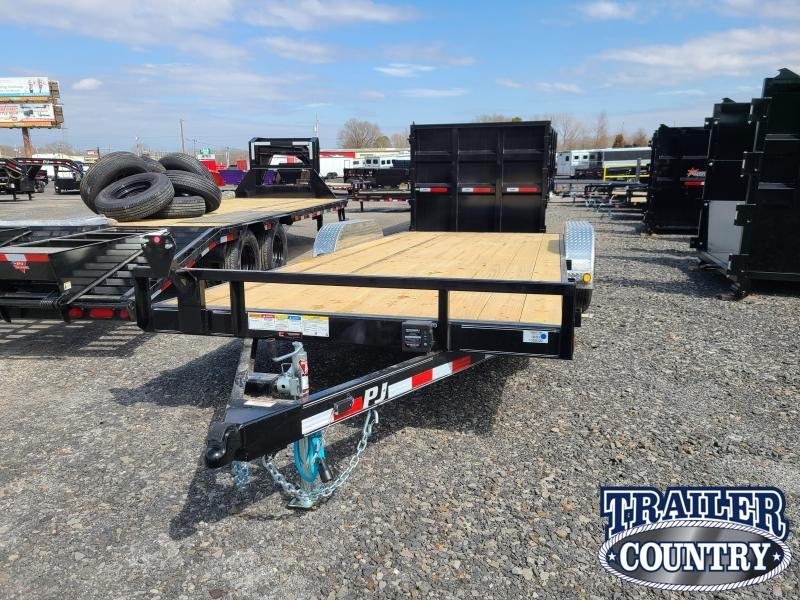 2021 PJ Trailers 83X20 TA Car / Racing Trailer