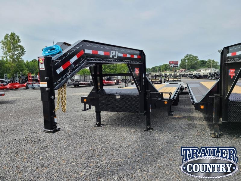 2021 PJ Trailers 25FT FLATDECK WITH DUALS Flatbed Trailer
