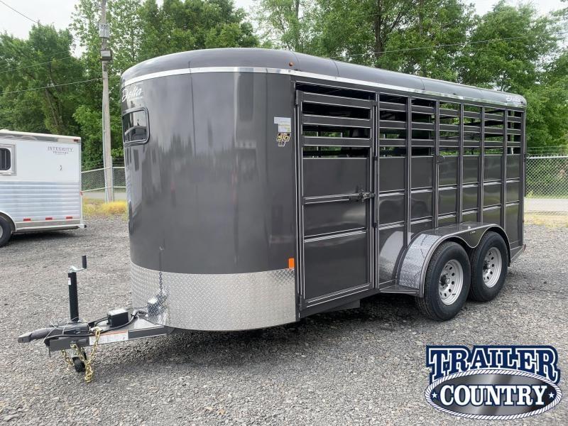 2022 Delta Manufacturing 500 Livestock Trailer