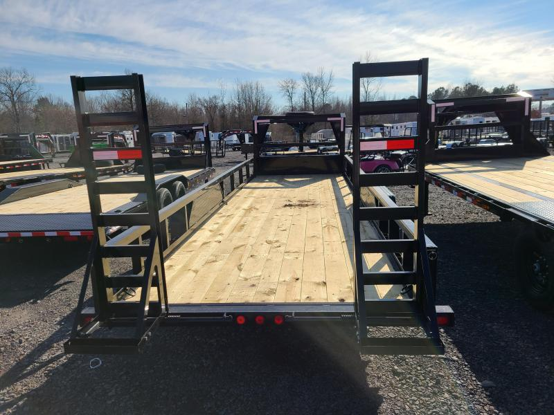 2021 PJ Trailers 83X24 TA Equipment Trailer