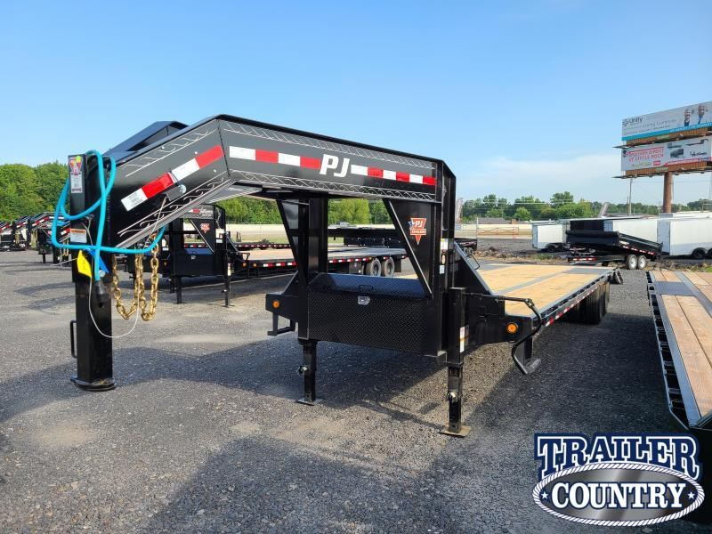2021 PJ Trailers 102X32 LOW PRO Flatbed Trailer