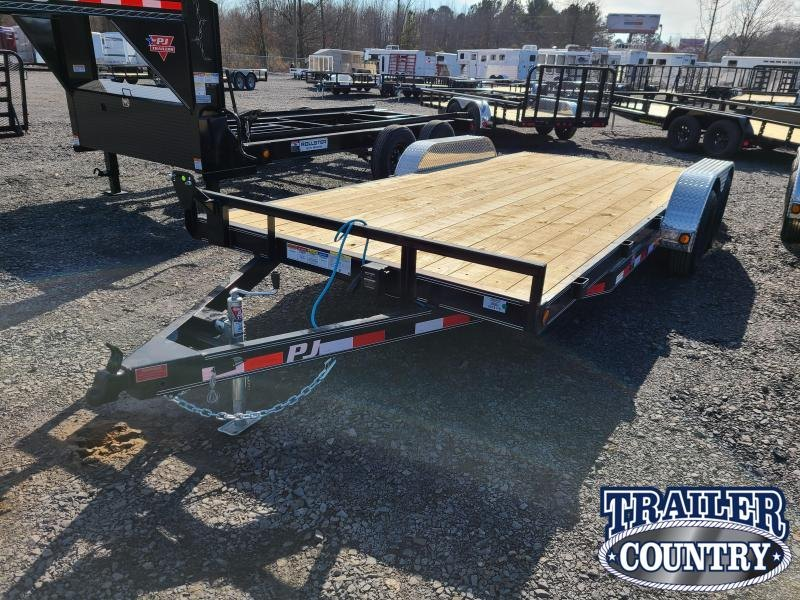 2021 PJ Trailers 83X18 TA Car / Racing Trailer
