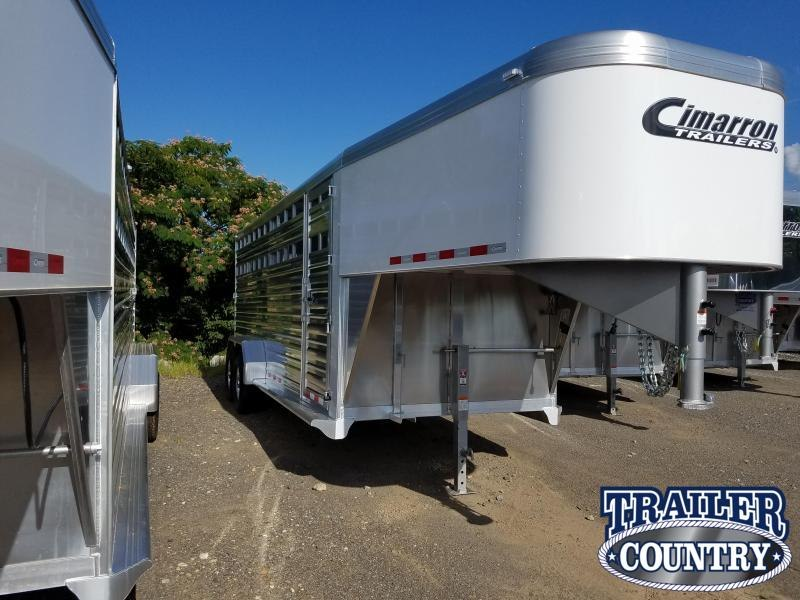 ***PRICE REDUCTION***2019 Cimarron Trailers 20 GN Livestock Trailer