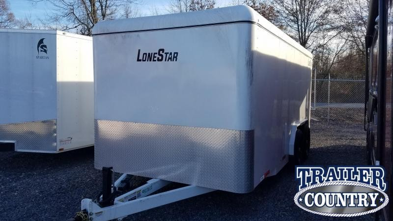 2021 Lonestar 7.10x16 Enclosed Cargo Trailer