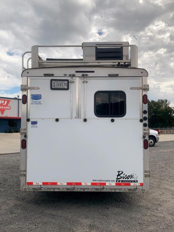 2016 Bison Trailers 3 Horse Silverado Living Quarters Horse Trailer w/Slide & Generator