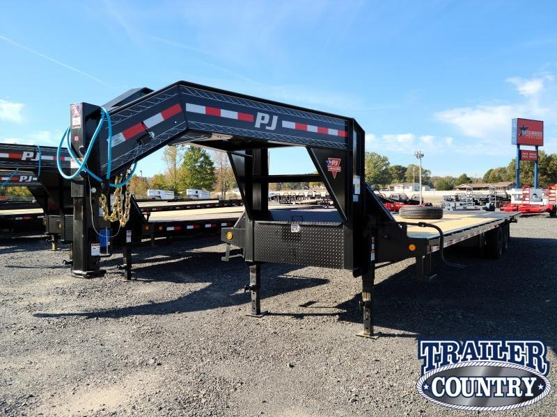 2021 PJ Trailers 102X36 HYDRAULIC DOVE Flatbed Trailer