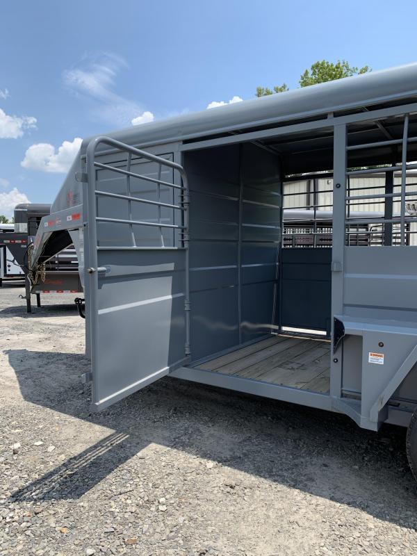 2019 Lonestar 20 NWT Rawmaxx Stock Trailer Livestock Trailer
