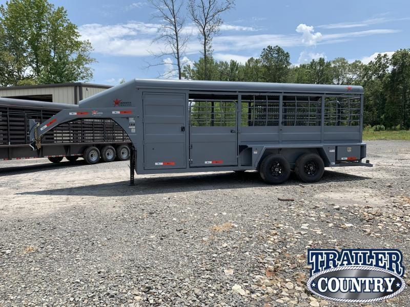 2019 Lonestar 20 NWT Rawmaxx Stock Trailer Livestock Trailer