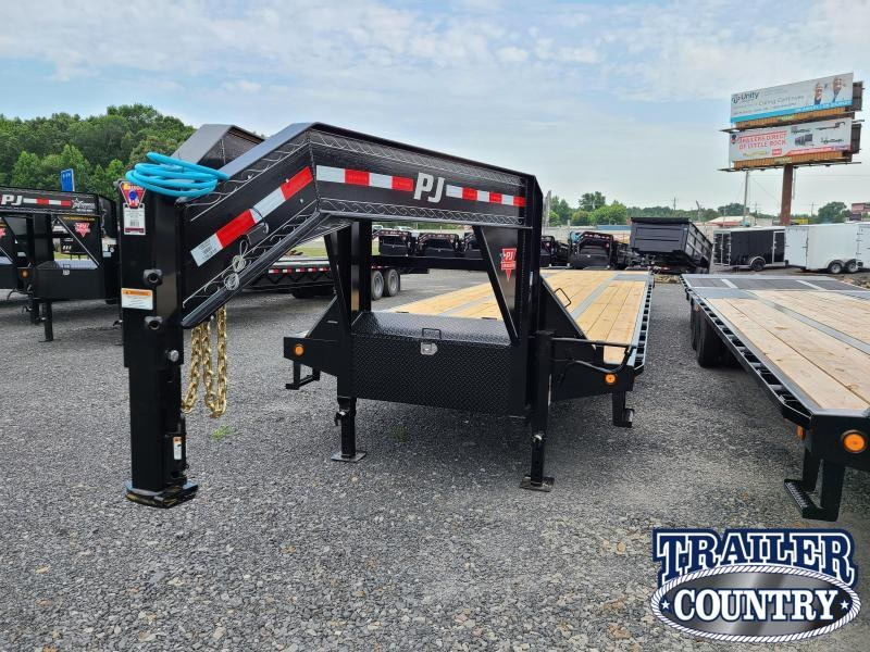 2021 PJ Trailers 102X40 LOW PRO WITH DUAL Flatbed Trailer