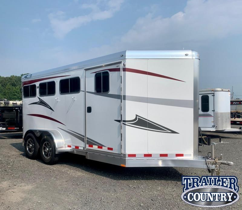2022 4-Star Trailers Runabout 3 Horse Slant Horse Trailer