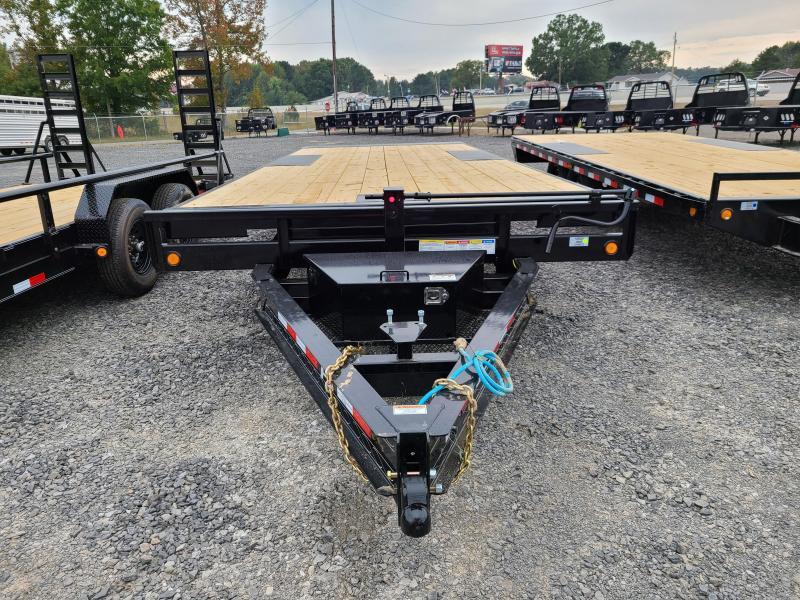 2021 PJ Trailers 96X22 TA DECKOVER Equipment Trailer