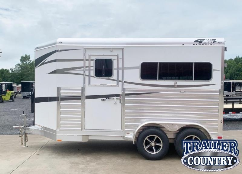 2022 4-Star Trailers Runabout 2 Horse Straight Load Horse Trailer - IN STOCK!
