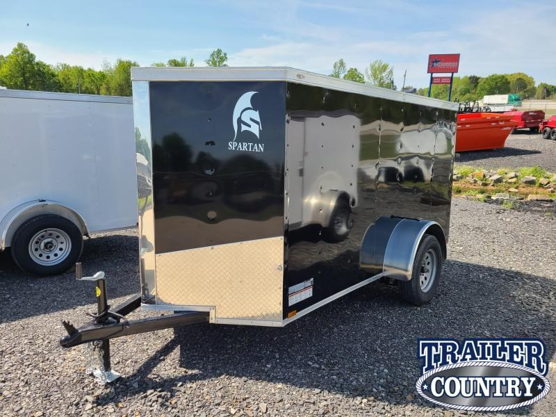 2021 Spartan Cargo 5X10SA Enclosed Cargo Trailer