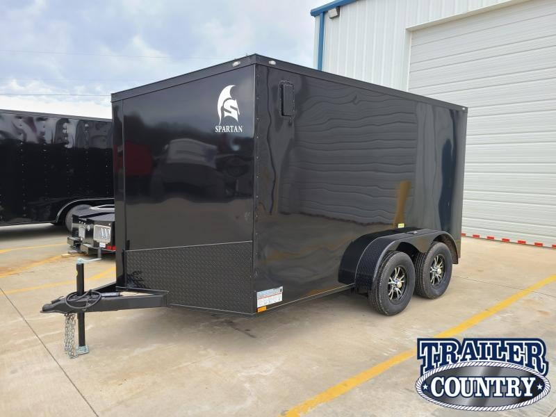 2021 Spartan Cargo 7X12 TA Enclosed Cargo Trailer